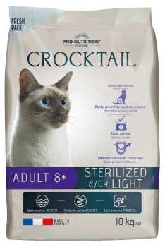 Pro Nutrition - Crocktail ADULT 8+ - 10 kg